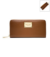 MICHAEL Michael Kors® Leather Jet Set Zip Around Continental Wallet