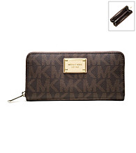 MICHAEL Michael Kors® Jet Set PVC Signature Continental Wallet