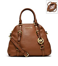 MICHAEL Michael Kors® Large Bedford Leather Bowling Satchel
