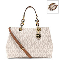 MICHAEL Michael Kors® Cynthia PVC Medium Satchel