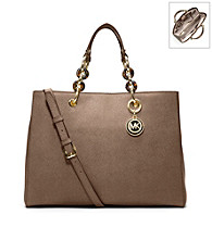 MICHAEL Michael Kors® Medium Cynthia Leather Satchel