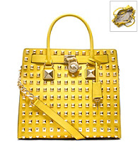 MICHAEL Michael Kors® Large Hamilton Studded Leather Tote