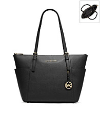 MICHAEL Michael Kors® Zip-Top Leather Tote
