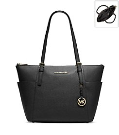MICHAEL Michael Kors® Jet Set Top-Zip Leather Tote