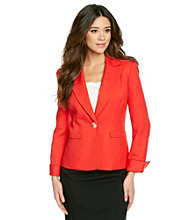 Le Suit® Turn Back Cuff Jacket