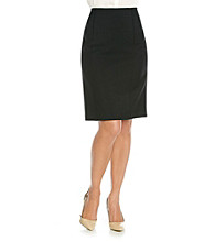 Le Suit® Basic Glazed Mélange Skirt