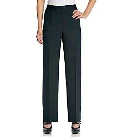 Kasper® Plus Size Zip Front Pant
