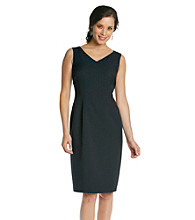 Kasper® Plus Size Seamed Sheath Dress