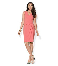 Lauren Ralph Lauren® Draped Sheath Dress