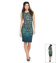 Muse Graphic Print Sheath Dress