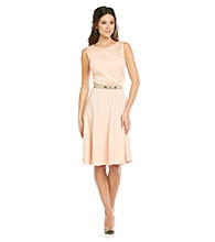Anne Klein® Belted Dart Dress