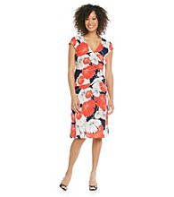 Evan-Picone® Floral Print Dress