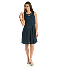 Relativity® Career Lace Tank Dress