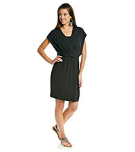 Relativity® Career Drape-Front Dress