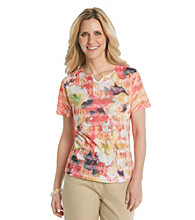 Breckenridge® Autumn Sun Sublimation Jacquard Tee