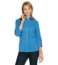 Breckenridge® Window Pane Blouse