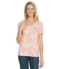 Studio Works® Petites' Printed Top