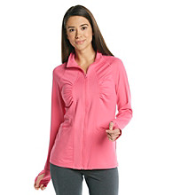 Exertek® Solid Shirred Jacket
