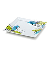 LivingQuarters Whiteware Fashion White Platter