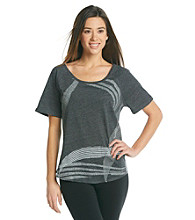 Gloria Vanderbilt Sport Dasha Graphic Tee