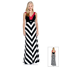 Karen Kane® Banded Maxi Dress