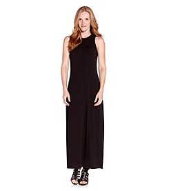 Karen Kane® High Neck Maxi Dress
