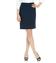Rafaella® Double-Weave Pencil Skirt