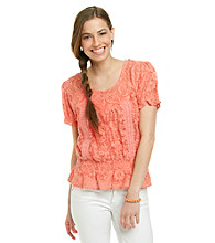Nine West Vintage America Collection® Kacy Lace Peasant Top