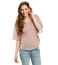 Nine West Jeans Shauna Batwing Top