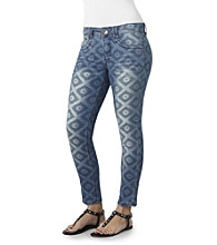 Democracy Tribal Print Ankle Jean