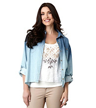 Democracy Dip-Dye Chambray Shirt