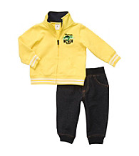 Carter's® Baby Boys' Yellow 2-pc. Long Sleeve Mommy's Beach Buddy Set