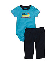 Carter's® Baby Boys' Turquoise 2-pc. Dude Gator Set