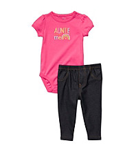 Carter's® Baby Girls' Pink/Navy 2-pc.