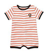 Carter's® Baby Boys' Orange Striped Monkey Creeper