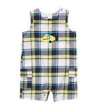Carter's® Baby Boys' Blue Plaid Sleeveless Fish Romper