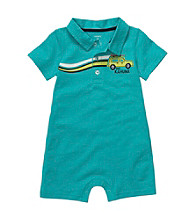 Carter's® Baby Boys' Turquoise Short Sleeve Dunebuggy Romper