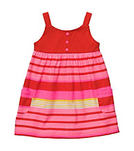 Carter's® Baby Girls' Pink Striped Pocket Dress