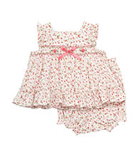 Rare Editions® Baby Girls' Ivory 2-pc. Ditsy Floral Popover Set