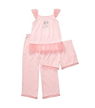 Carter's® Girls' 12M-4T Pink 3-pc. Ballet Slipper Pajama Set