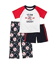 Carter's® Boys' 12M-4T Red/Grey 3-pc.