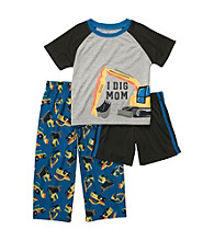Carter's® Boys' 12M-4T Grey/Blue 3-pc.