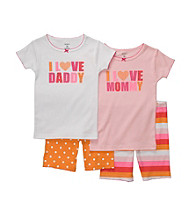 Carter's® Girls' 12M-7 Pink/Orange 4-pc.