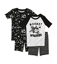 Carter's® Boys' 4-7 Black 4-pc.