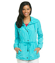 Laura Ashley® Peplum Anorak Jacket