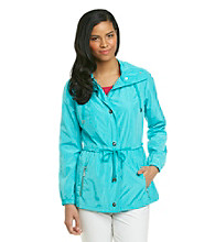 Laura Ashley® Petites' Peplum Anorak Jacket