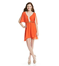 XOXO® Juniors' Drape Sleeve Dress