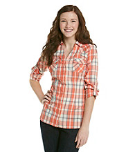 Fire® Juniors' Plaid Equipment Shirt