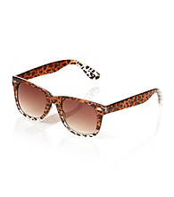 Icon Leopard Pattern Retro Sunglasses