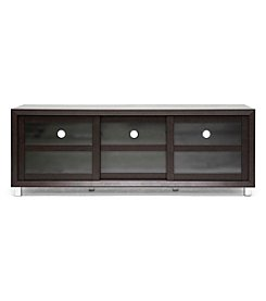 Baxton Studios Pacini Dark Brown Modern TV Stand